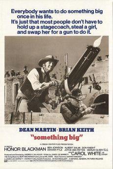 Something Big 1971 Poster
