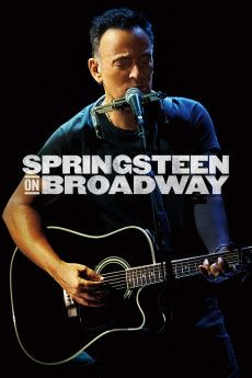 Springsteen on Broadway 2018 Poster