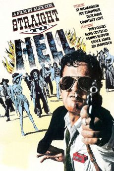 Straight to Hell 1987 Poster