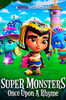 Super Monsters: Once Upon a Rhyme 2021 Poster