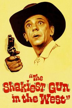 The Shakiest Gun in the West 1968 Poster
