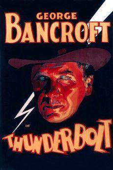 Thunderbolt 1929 Poster