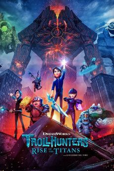 Trollhunters: Rise of the Titans 2021 Poster