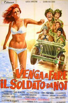 Venga a fare il soldato da noi 1971 Poster