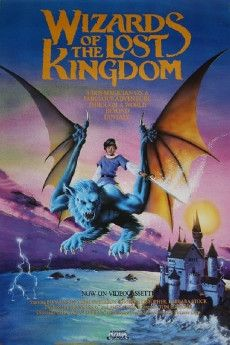 Wizards of the Lost Kingdom 1985 Poster