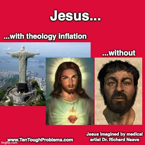 Theology Inflation and the Disappearance of Jesus