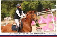 Diana du Grasset aux championnats de France