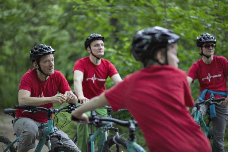 Pleasantville mountain biking