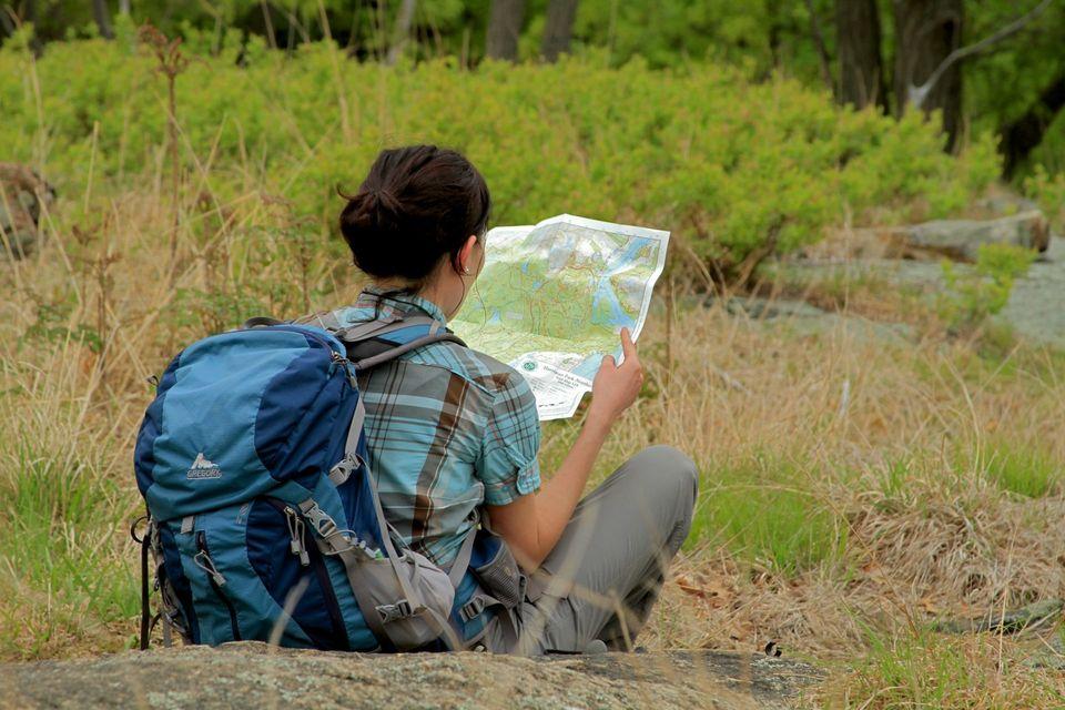 Proper hiking preparation includes maps. Photo by Sakeeb Sabakka.
