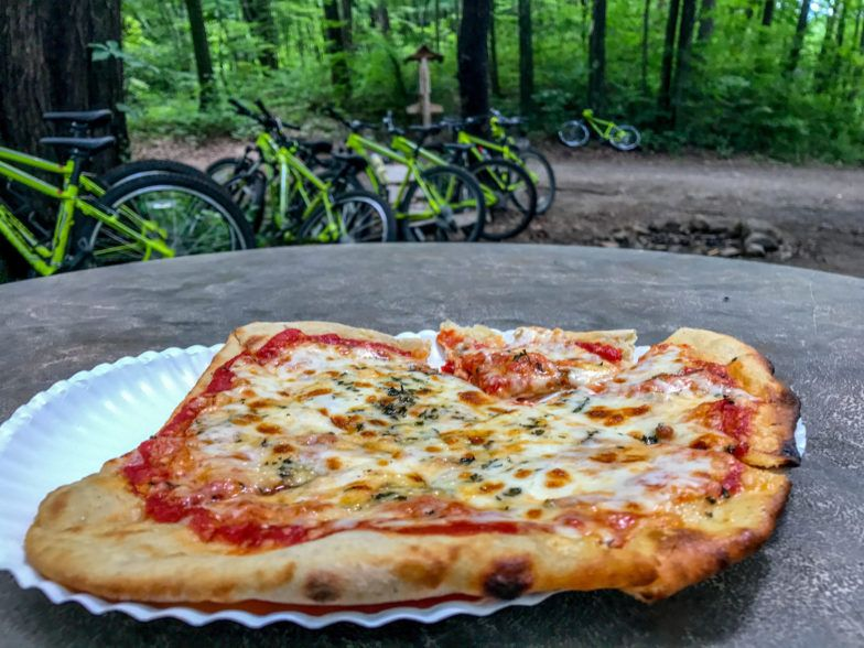 """The """"Simple"""" pizza at Rail Trail is anything but. It's delicious!"""