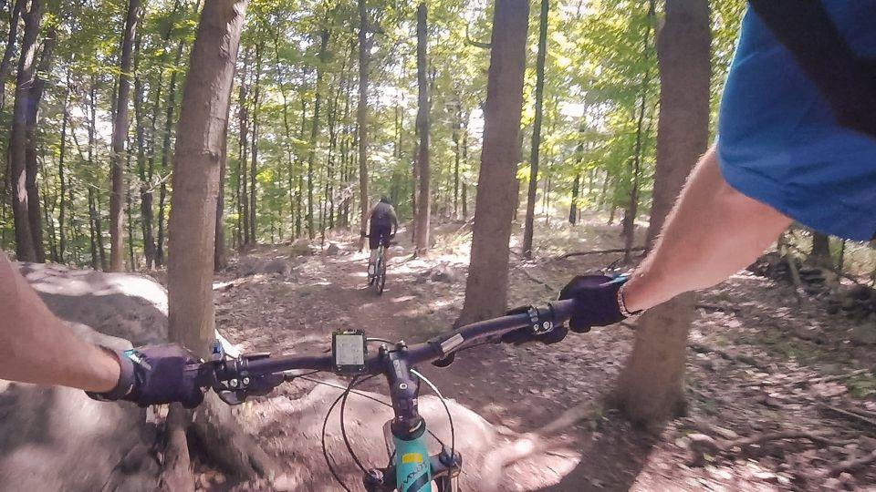 mountain biking Graham Hills