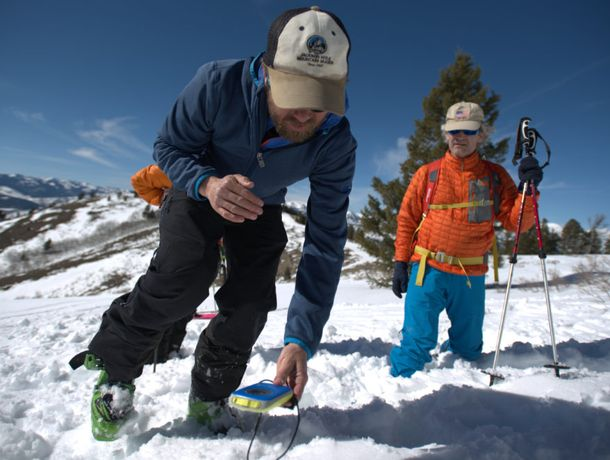 Ski mountaineering camp with Jackson Hole Mountain Guides