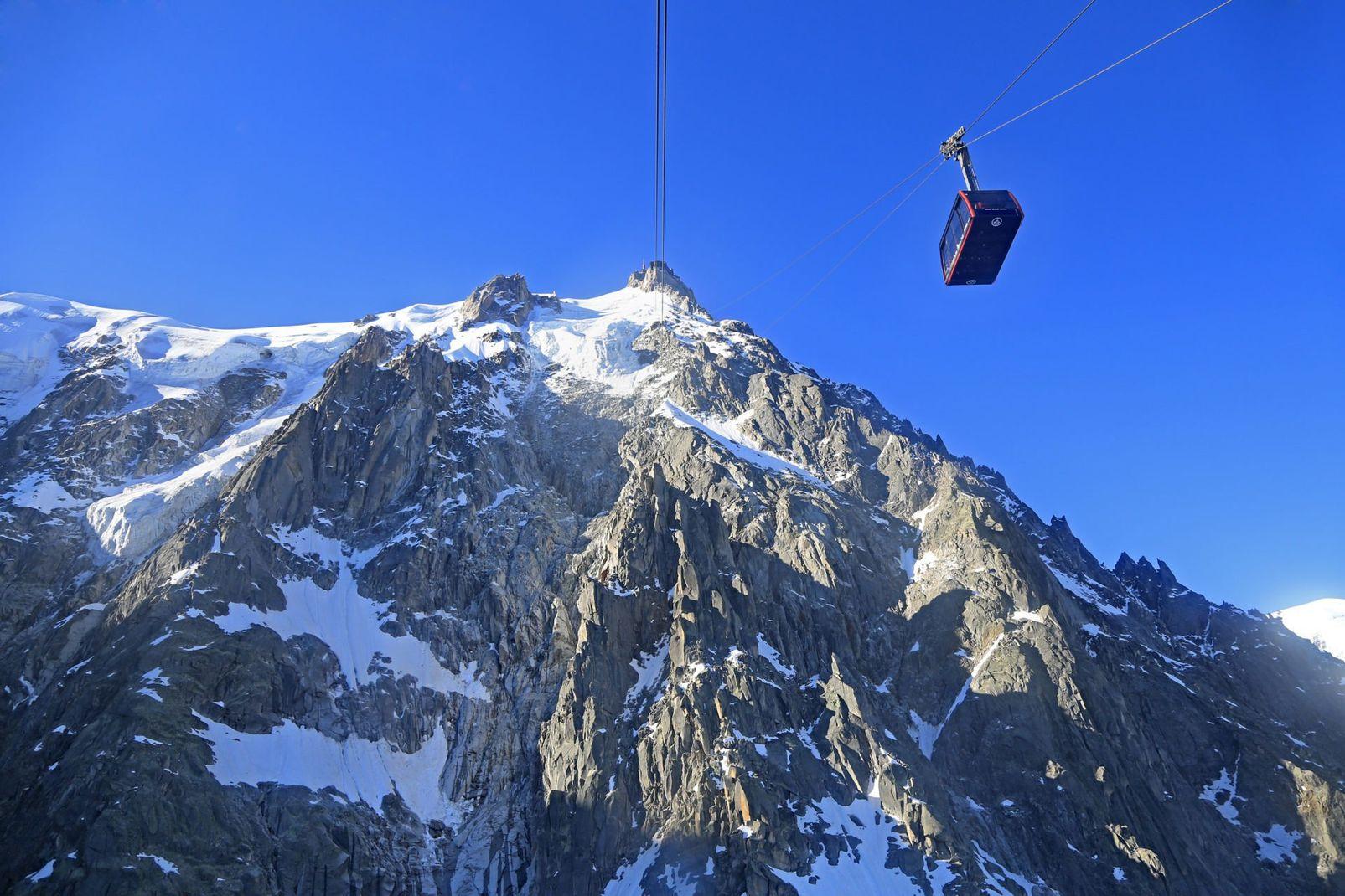 Skiing Chamonix