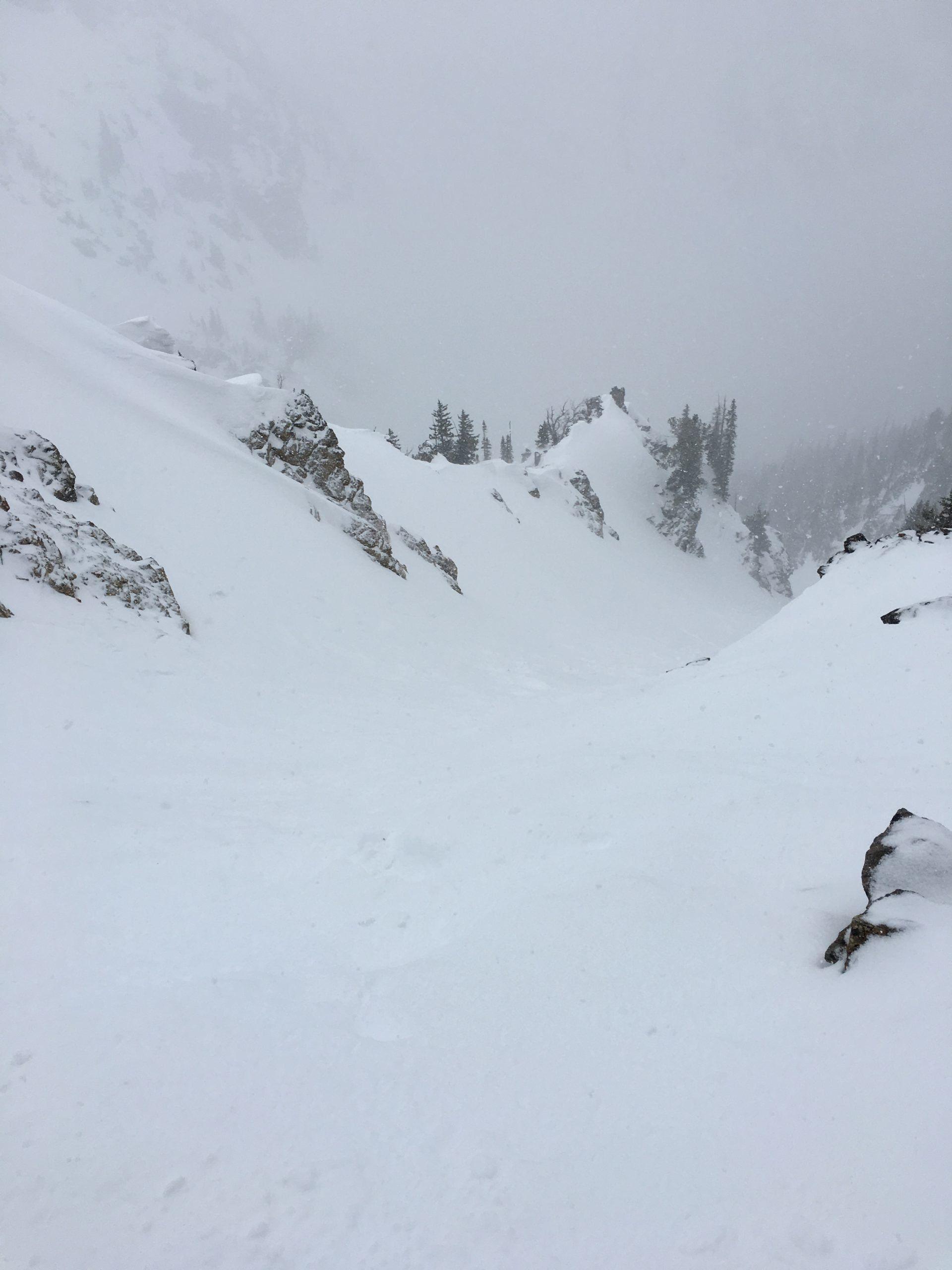 Heavy snow on Grand Teton
