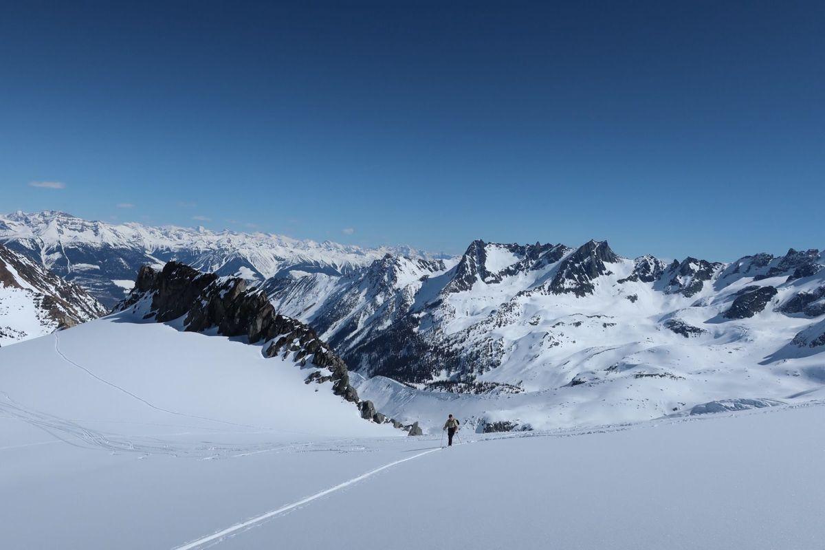 Fairy Meadows ski terrain
