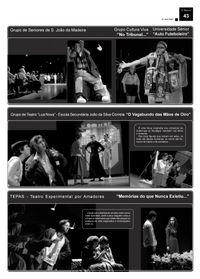 2007 O Festival de teatro nos jornais.