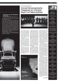 2008 O Festival de teatro nos jornais.