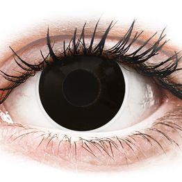 ColourVUE Crazy Lens - Blackout - Ημερήσιοι φακοί Μη διοπτρικοί (2 φακοί)
