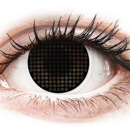ColourVUE Crazy Lens - Black Screen - Μη διοπτρικοί Ετήσιοι φακοί επαφής (2φακοί)