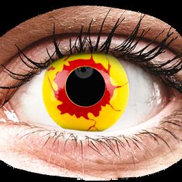 ColourVUE Crazy Lens - Reignfire - Ημερήσιοι φακοί Μη διοπτρικοί (2φακοί)