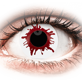 ColourVUE Crazy Lens - Wild Blood - Ημερήσιοι φακοί Μη διοπτρικοί (2φακοί)