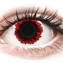 ColourVUE Crazy Lens - Blaze - Μη διοπτρικοί Ετήσιοι φακοί επαφής (2 φακοί)