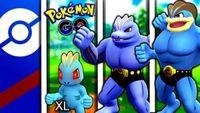 UNBELIEVABLE WINS w/ TRIPLE MACHOP TEAM! | Pokemon Go Battle League