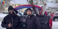 New Jersey plumber drives 25 hours straight — family in tow — to help Texans after winter storm