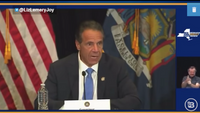 New York Governor Cuomo: 'We need to put them in a car and drive them to get that vaccine in their arm'
