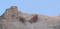 Spectaculaire beelden: grote steenlawine in de Dolomieten
