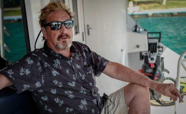Software Icon John McAfee Charged In Cryptocurrency Scam