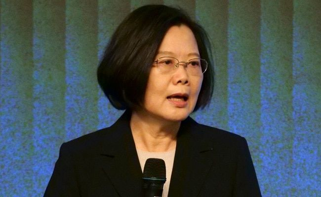 Taiwan Will Not 'Bow To Pressure' By China, Says President