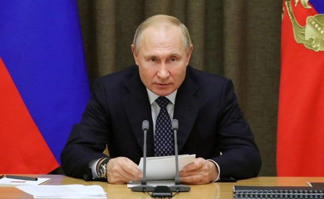 Vladimir Putin Says Time Will Come When I Name My Possible Successor