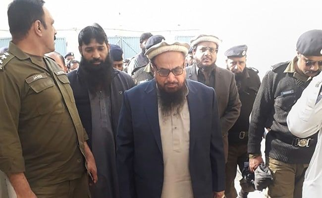 Massive Raids In Pakistan After Blast Outside Hafiz Saeed's House: Report