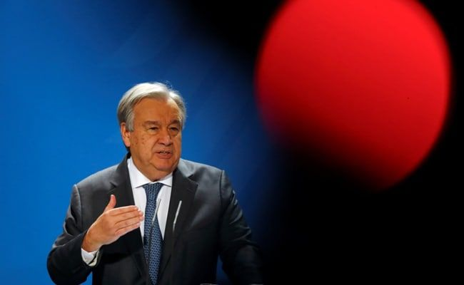 Very Important To Engage With Taliban, Says UN Chief