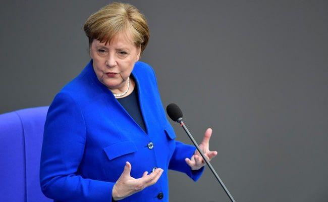Angela Merkel 'Furious And Saddened' Over US Capitol Violence