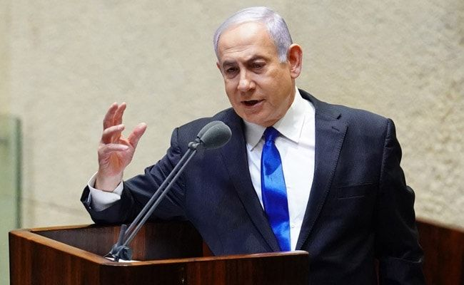 Benjamin Netanyahu Says Israeli Offensive In Gaza To Continue As Long As Necessary