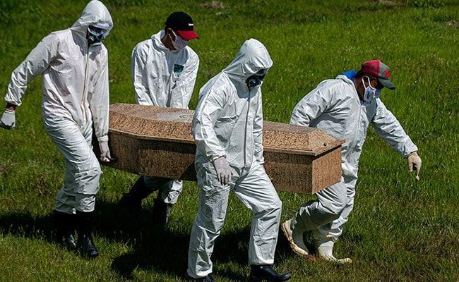 Russia Records Over 49,000 Covid Deaths In August: Federal Agency