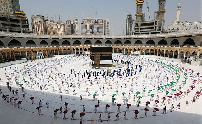 Pilgrims Arrive In Mecca For Second Pandemic Hajj