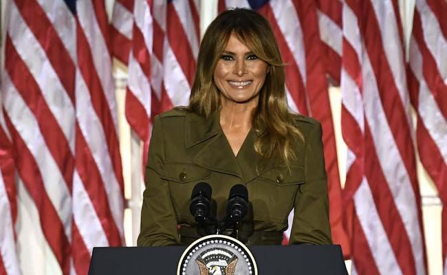 'Donald Is A Fighter': Melania Trump Hits Campaign Trail For Her Husband