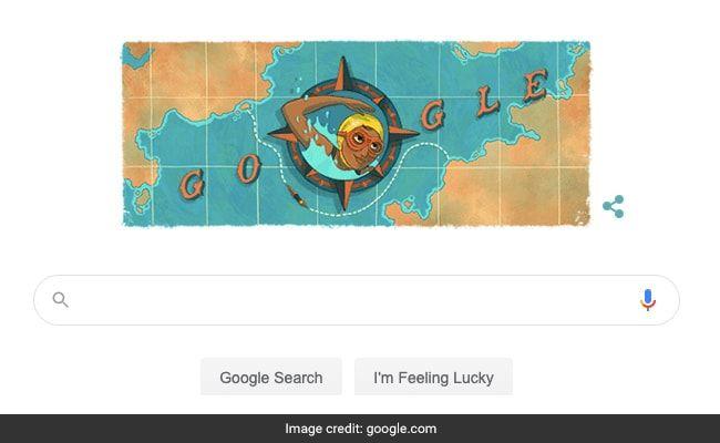 Google Dedicates Doodle To Indian Swimmer Arati Saha On Her 80th Birthday