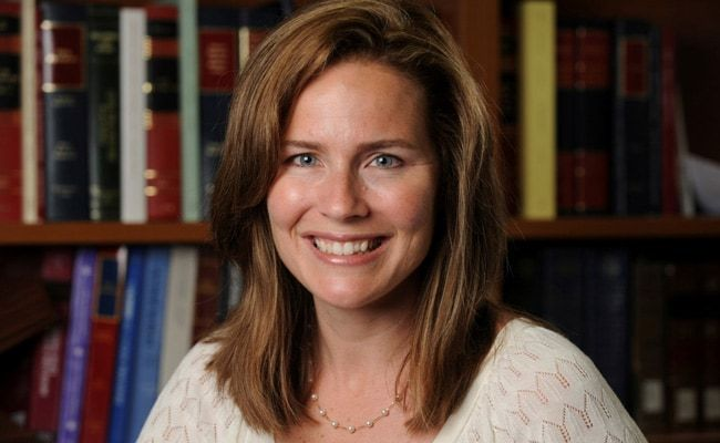 Trump To Nominate Amy Coney Barrett As New Supreme Court Judge: Report