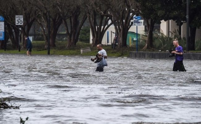 Hurricane Sally Weakens To Tropical Storm, 'Catastrophic Flooding' Continues In US