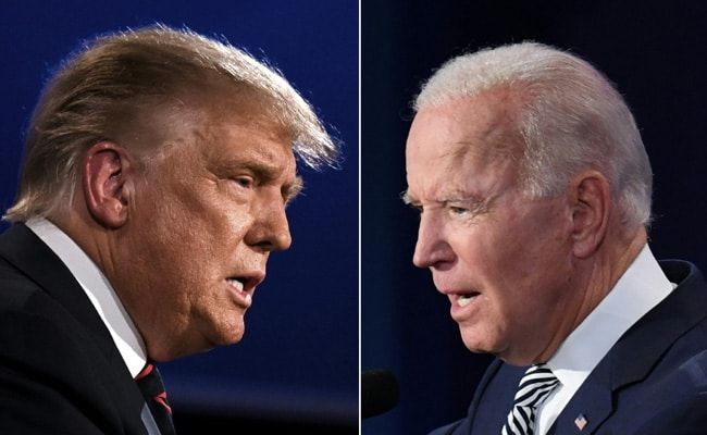 Donald Trump Goads Joe Biden For Forgetting His Name