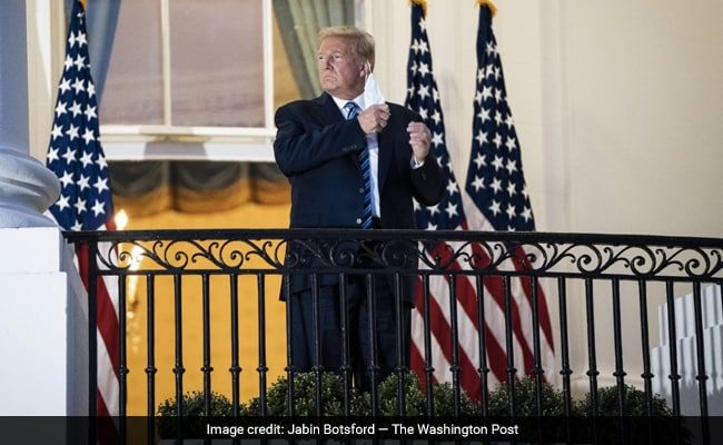 Trump To Hold First Public White House Event Since Testing COVID +ve On Saturday