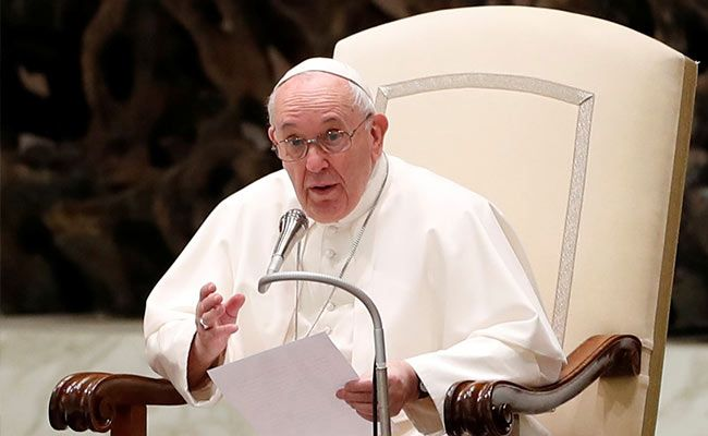 'Better If We Keep Distance': Pope Francis To Audience Over Covid Concerns