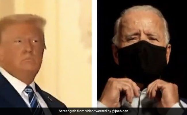 'Masks Matter, They Save Lives': Joe Biden's Swipe In A Video At Trump