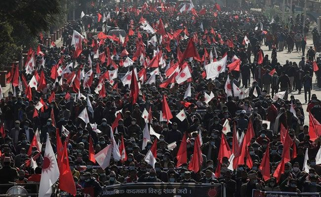 Thousands Protest In Nepal Against PM's Dissolution Of Parliament