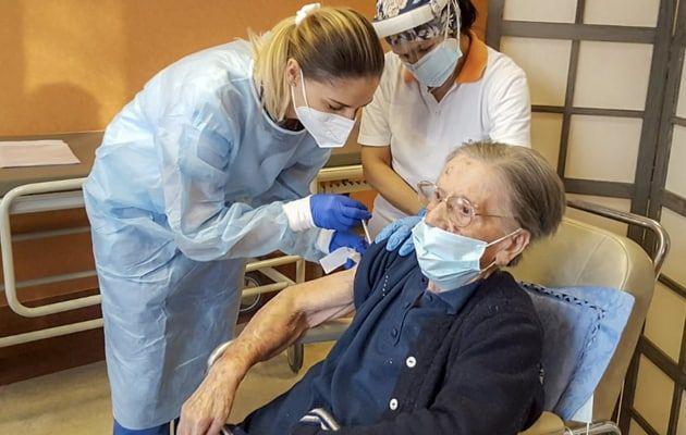 108-Year-Old Italian Woman Receives Coronavirus Vaccine