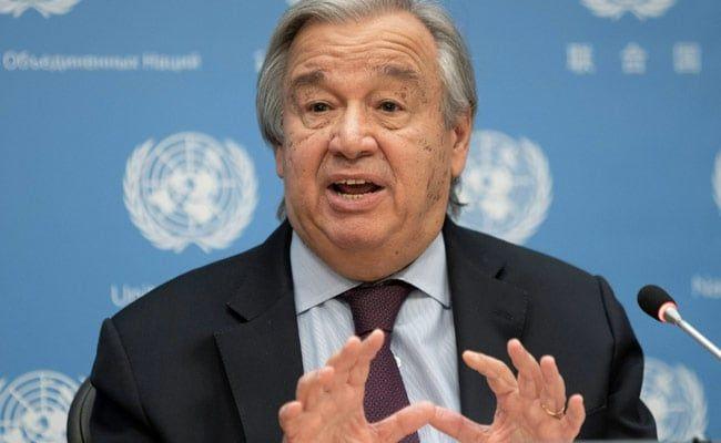 UN Chief Antonio Guterres Calls For Fair Distribution Of Vaccines